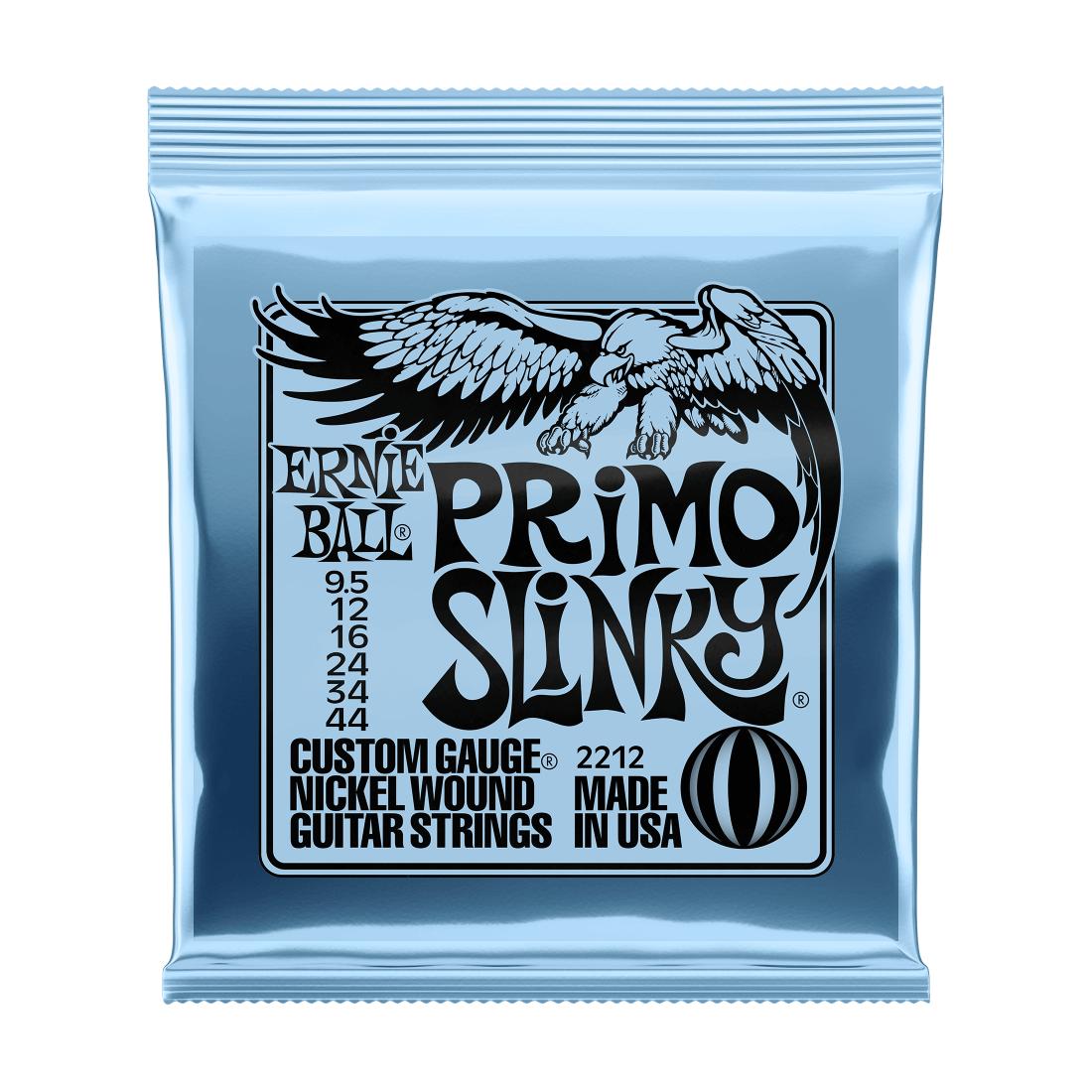 Ernie Ball NEW Ernie Ball Primo Slinky Electric Strings - .0095-.044