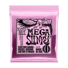 Ernie Ball NEW Ernie Ball Mega Slinky Electric Strings - .0105-.048