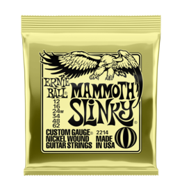 Ernie Ball NEW Ernie Ball Mammoth Slinky Electric Strings - .012-.062
