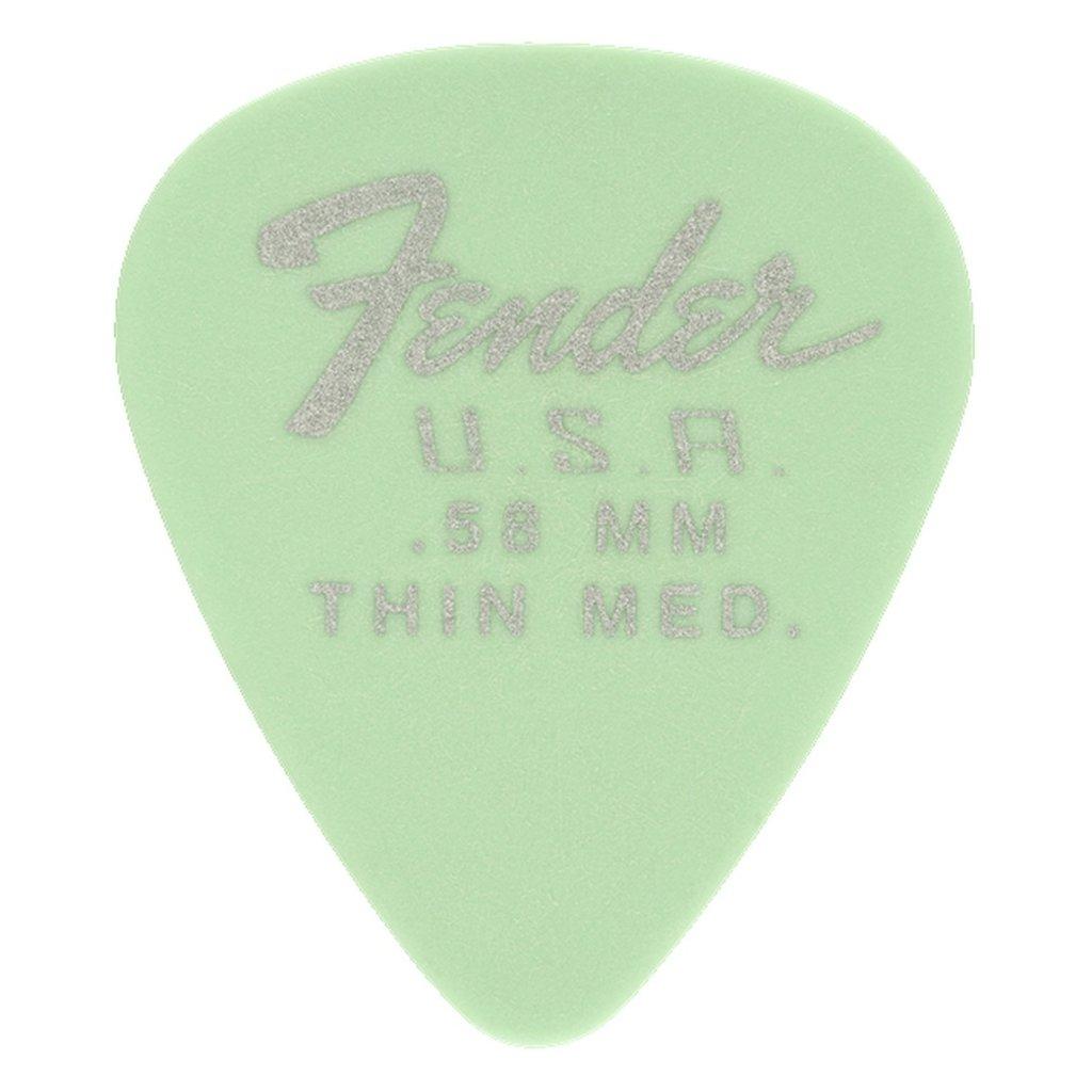 Fender NEW Fender 351 Dura-Tone .58 12-Pack - Surf Green
