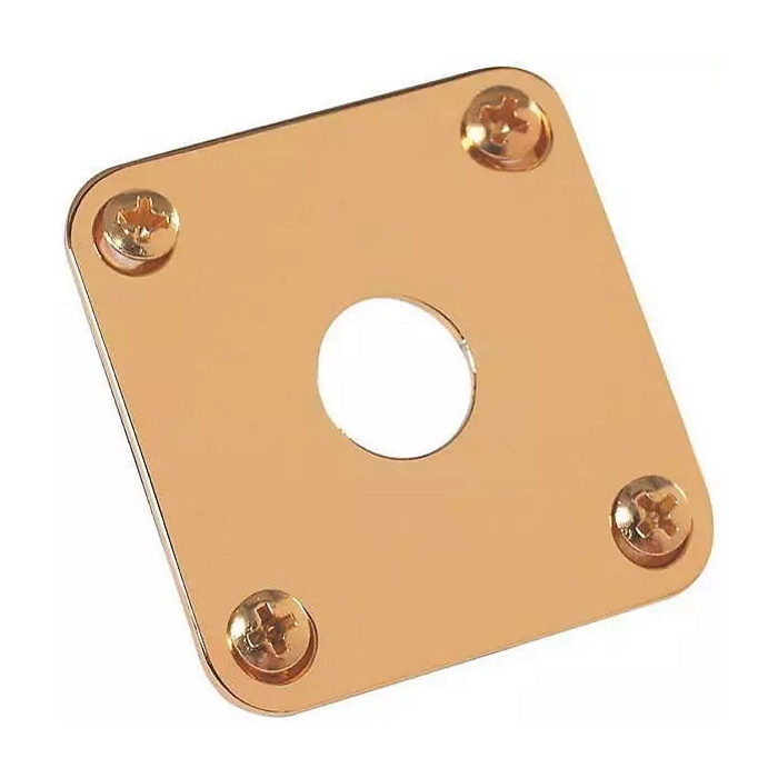 Gibson NEW Gibson Accessories Jack Plate - Gold