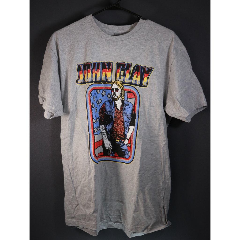 Local Music NEW John Clay T-Shirt - Large