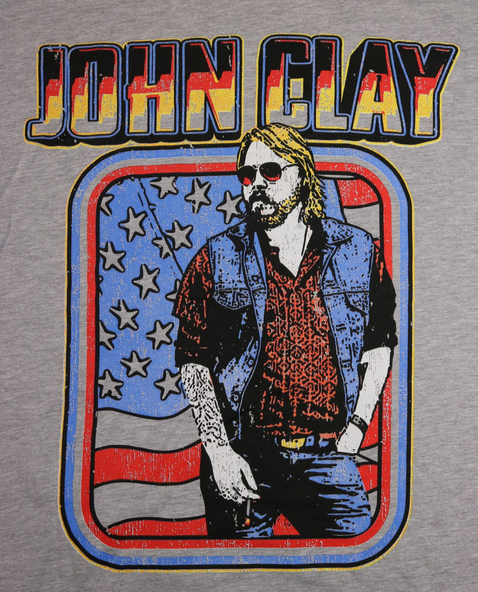 Local Music NEW John Clay T-Shirt - Large