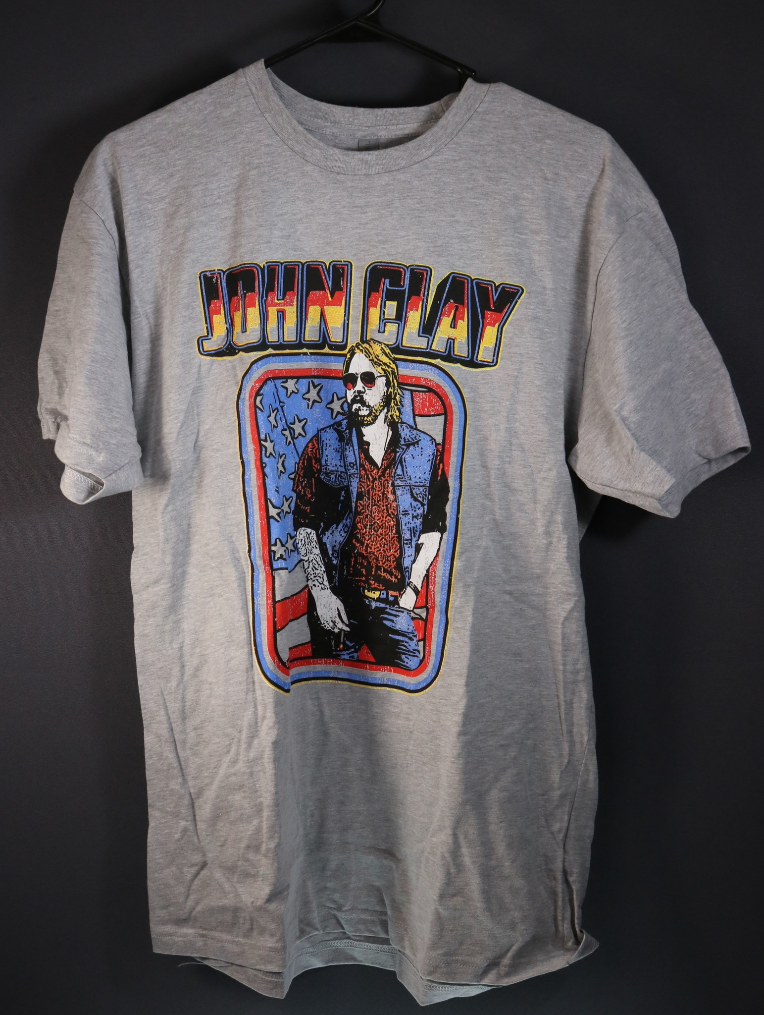 Local Music NEW John Clay T-Shirt - Medium