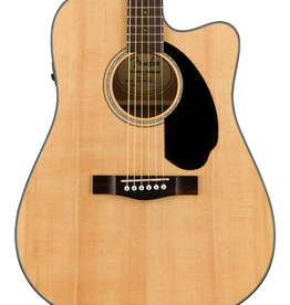 Fender NEW Fender CD-60SCE Dreadnought - Natural (261)