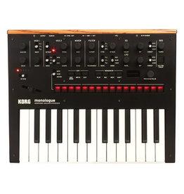 Korg NEW Korg monologue Analog Synthesizer - Black (306)