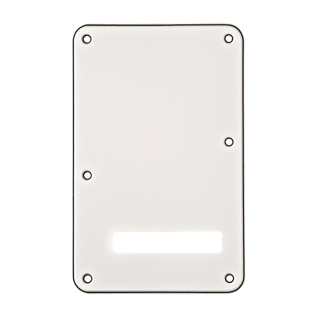 Fender NEW Fender Backplate for Stratocaster - White/Black/White