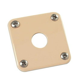Gibson NEW Gibson Accessories Plastic Jack Plate - Cream