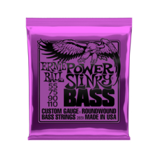 Ernie Ball NEW Ernie Ball Power Slinky Bass - .055-.110