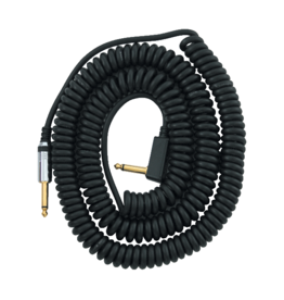 Vox NEW Vox VCC090BK Coiled Cable With Mesh Bag Black