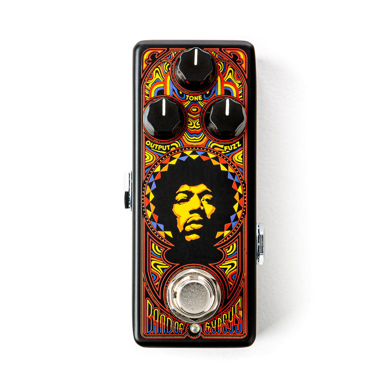 Dunlop NEW Dunlop Authentic Hendrix '69 Psych Series Band Of Gypsys Fuzz