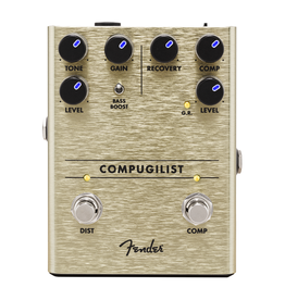 Fender NEW Fender Compugilist Compressor/Distortion