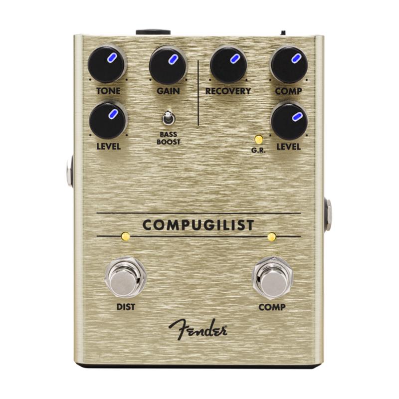 Fender NEW Fender Compugilist Compressor/Distortion