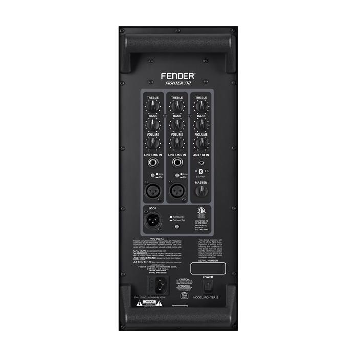 """Fender NEW Fender Fighter 12"""" 2-Way Powered Speaker (939)"""