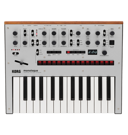 Korg NEW Korg monologue Analog Synthesizer - Silver (210)