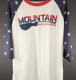 MME Mountain Music Exchange MME Stars 3/4 Sleeve Shirt - XXL