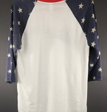 MME Mountain Music Exchange MME Stars 3/4 Sleeve Shirt - S