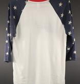 MME Mountain Music Exchange MME Stars 3/4 Sleeve Shirt - XL