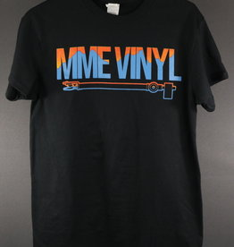 MME Mountain Music Exchange - MME Vinyl T-Shirt - L