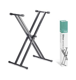 Stagg NEW Stagg Double Braced X-Style Keyboard Stand
