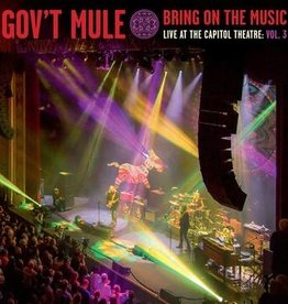 Gov't Mule Bring On The Music - Live at The Capitol Theatre: Vol 3