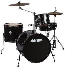 ddrum NEW ddrum D2 Rock 4 Piece Complete Drum Kit - Black Sparkle