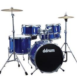 ddrum NEW ddrum D1 5 Piece Complete Junior Drum Kit - Police Blue