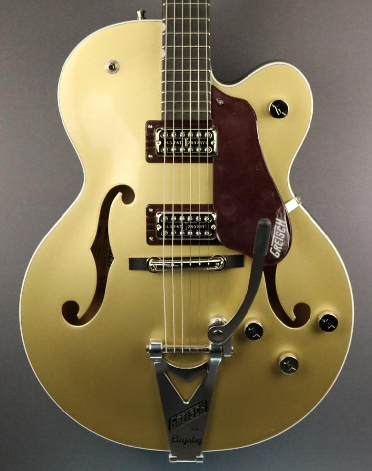 Gretsch DEMO Gretsch G6118T-135 LTD 135th Anniversary - Casino Gold/Dark Cherry Metallic (789)