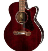Epiphone NEW Epiphone EJ-200 Coupe - Wine Red (332)