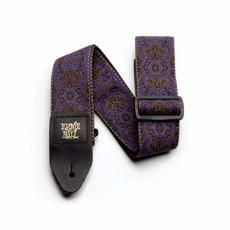 Ernie Ball NEW Ernie Ball Jacquard Guitar Strap - Purple Paisley