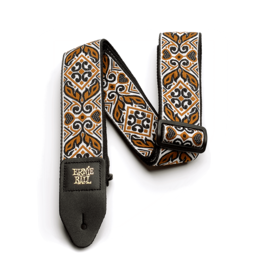 Ernie Ball NEW Ernie Ball Jacquard Guitar Strap - Tribal Brown