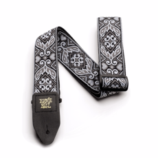 Ernie Ball NEW Ernie Ball Jacquard Guitar Strap - Tribal Silver