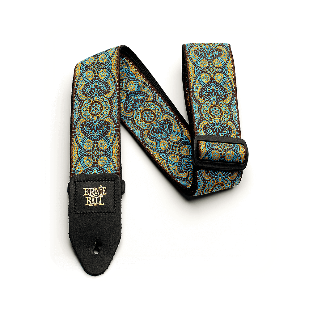 Ernie Ball NEW Ernie Ball Jacquard Guitar Strap - Imperial Paisley