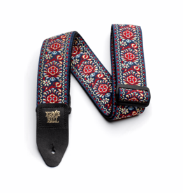 Ernie Ball NEW Ernie Ball Jacquard Guitar Strap - Royal Bloom