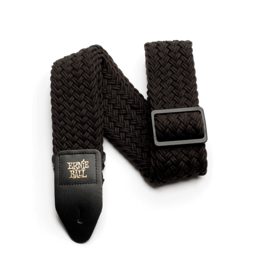 Ernie Ball NEW Ernie Ball Polyspun Guitar Strap - Raven Black