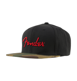 Fender NEW Fender Camo Flatbill Hat - One Size Fits Most