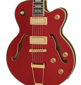 Epiphone NEW Epiphone Uptown Kat ES - Ruby Red Metallic (769)