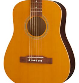 Epiphone NEW Epiphone El Nino Travel Guitar - Antique Natural (275)