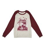 Fender NEW Fender Women's Love Sweatshirt - Oatmeal/Maroon - XL