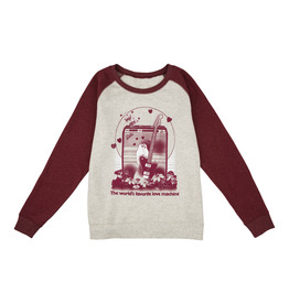 Fender NEW Fender Women's Love Sweatshirt - Oatmeal/Maroon - XL