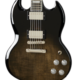 Epiphone NEW Epiphone SG Modern Figured - Trans Black Fade (269)