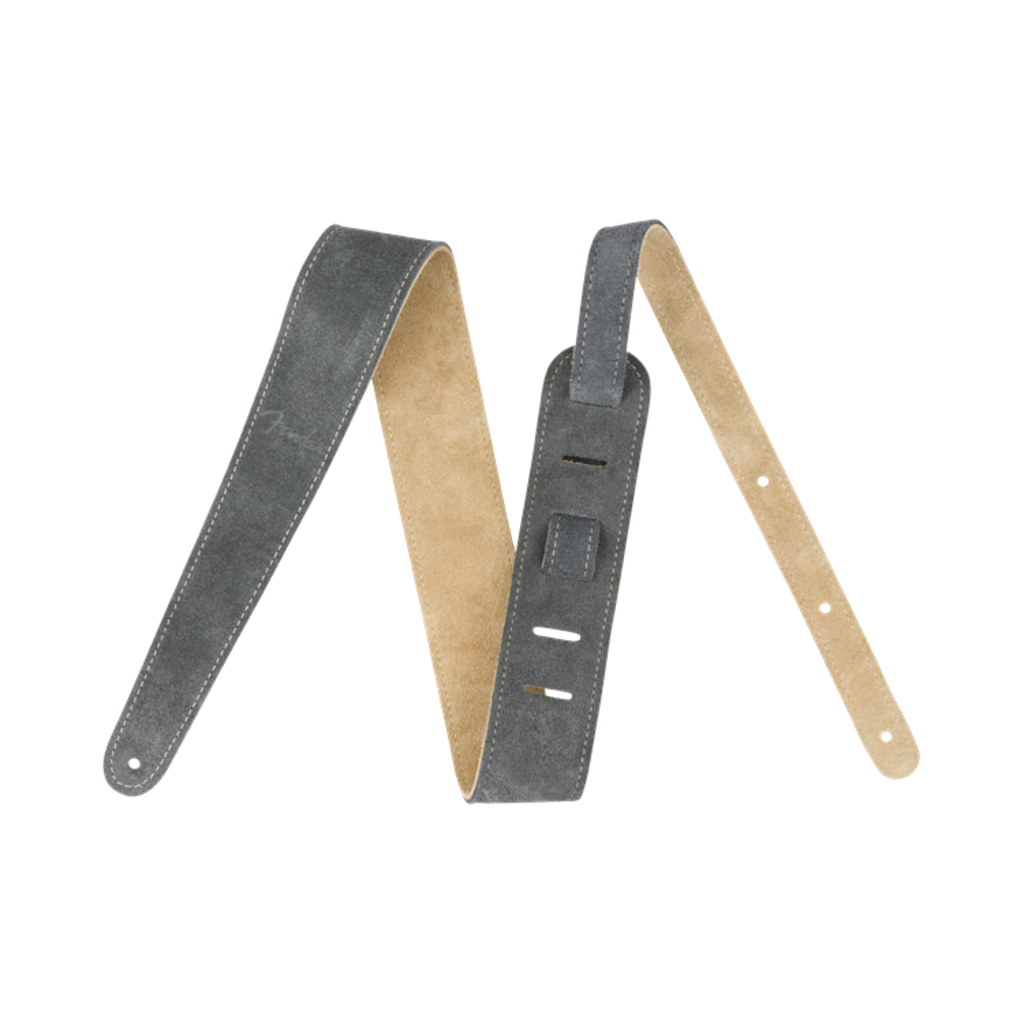 Fender NEW Fender Reversible Suede Strap - Gray/Tan