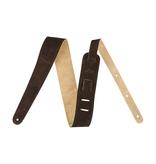 Fender NEW Fender Reversible Suede Strap - Brown/Tan