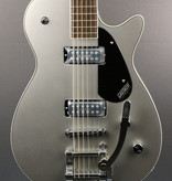 Gretsch DEMO Gretsch G5260T Electromatic Jet Baritone with Bigsby - Airline Silver (825)