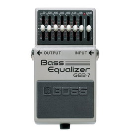 Boss NEW Boss GEB-7 7-Band Bass EQ