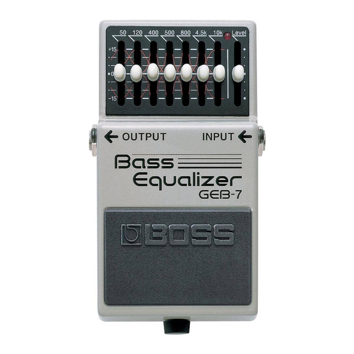Boss NEW Boss GEB-7 7-Band Bass EQ