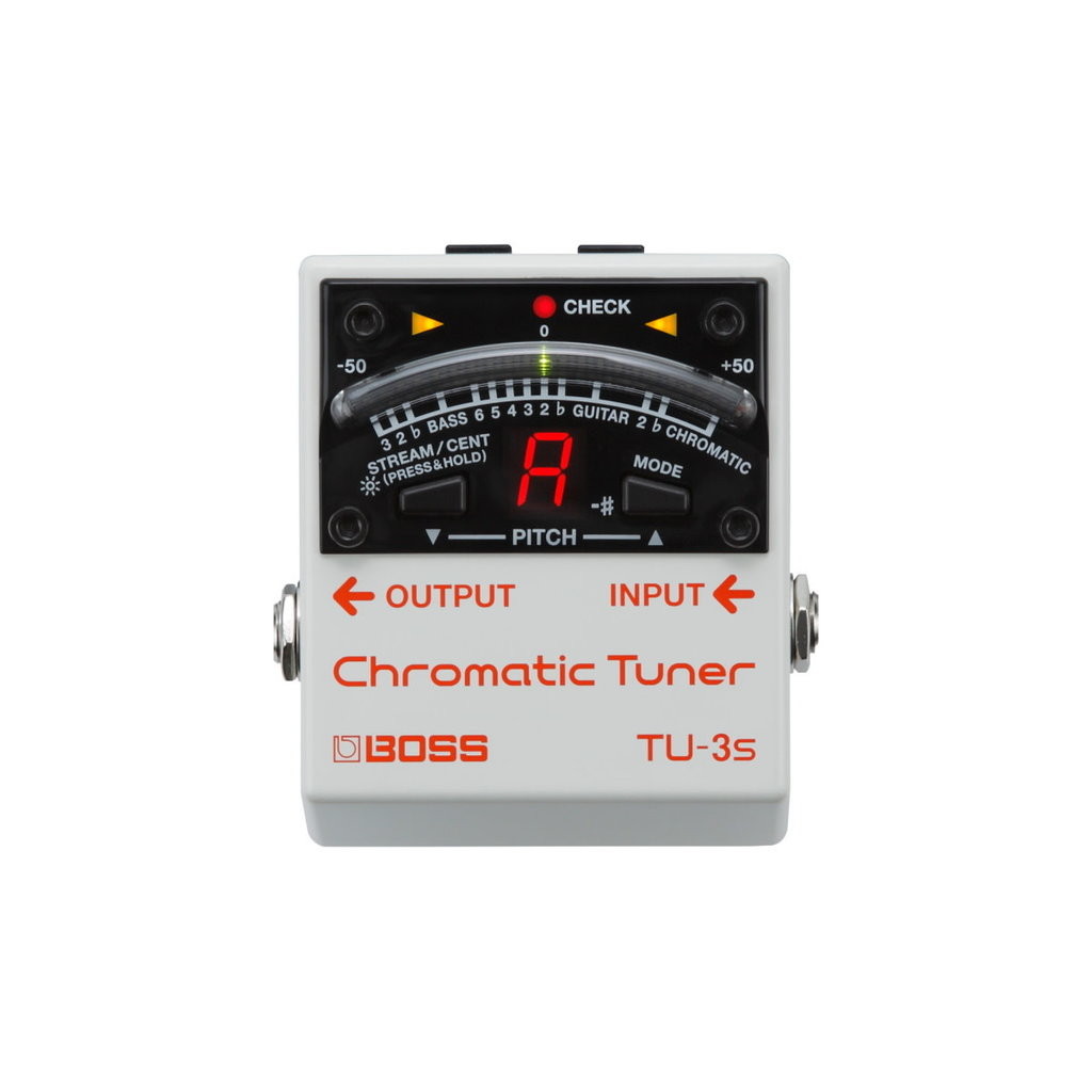 Boss NEW Boss TU-3S Chromatic Tuner