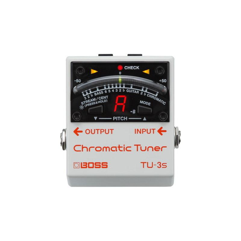 Boss NEW Boss TU-3S Chromatic Tuner