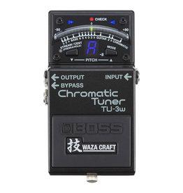 Boss NEW Boss TU-3W Waza Craft Chromatic Tuner