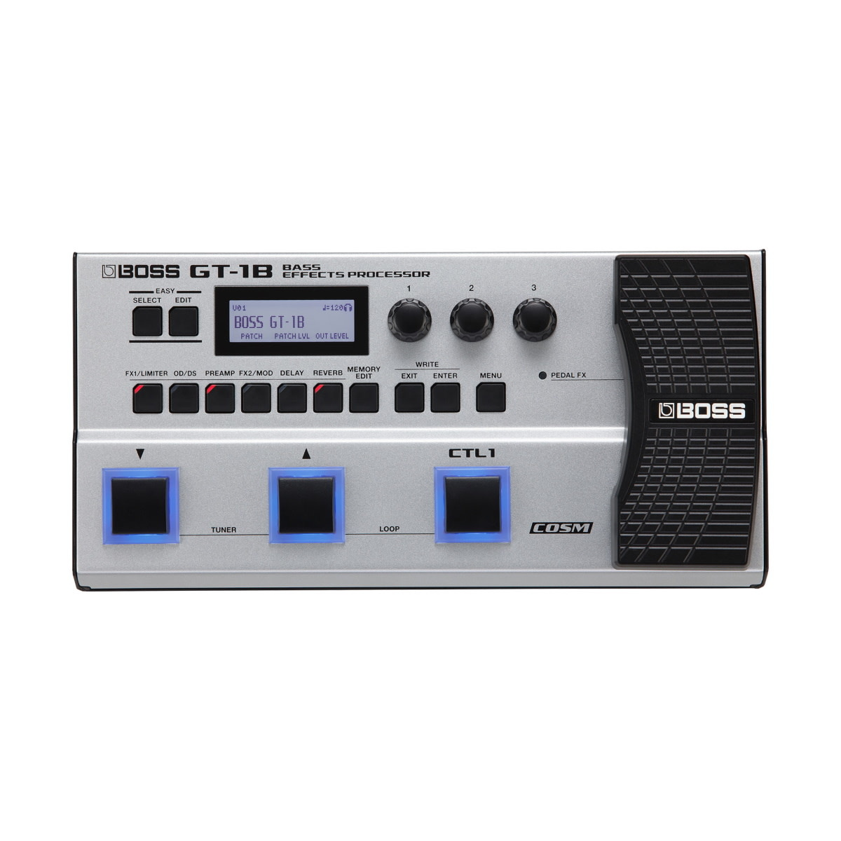 Boss NEW Boss GT-1B Bass Multi-Effects Processor